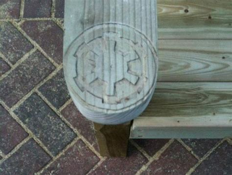 stormtrooper wood deck chair randommization