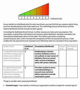 sample risk assessment template 11 free documents in With risk assessment security survey template