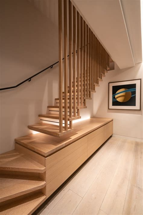 hanging dovetailed staircase wood awards