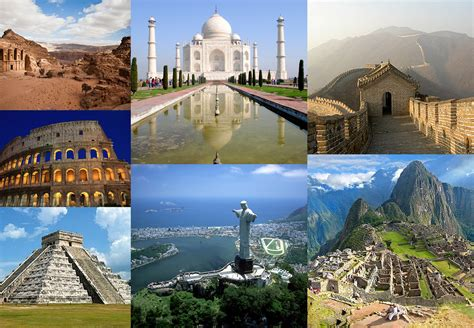 quelles sont les 7 nouvelles merveilles du monde voyage le prochain voyage r 233 cits
