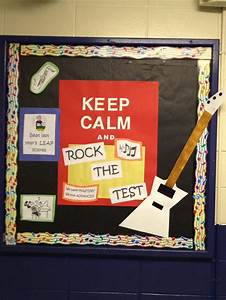 E Board Test : rock the test goes with our rock the staar theme ~ Jslefanu.com Haus und Dekorationen