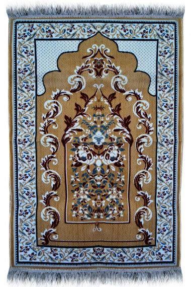 BEST Janamaz : Plush Velvet Muslim Prayer Rug From Turkey