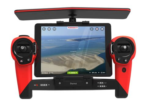 parrot unveils  ardrone  bebop drone  skycontroller joystick control dock  ipad