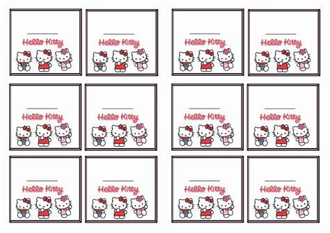 kitty  tags birthday printable