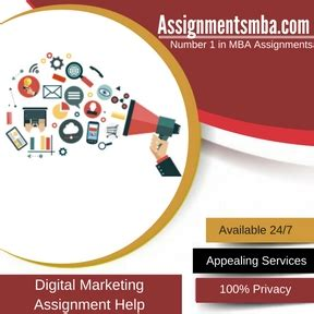 mba in digital marketing digital marketing mba assignment help business
