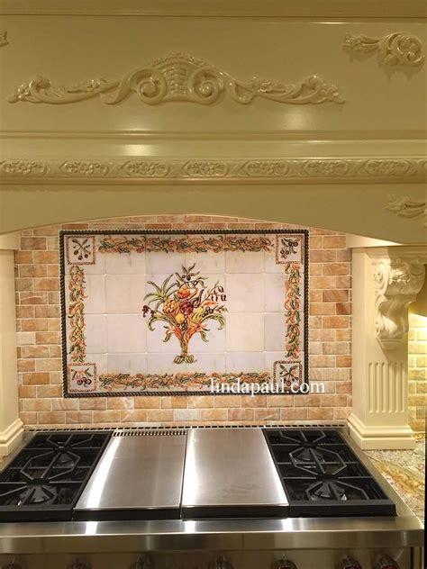 italian design  life kitchen tile backsplash mural