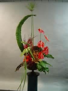 silk floral arrangements tropical arrangement with woven bird