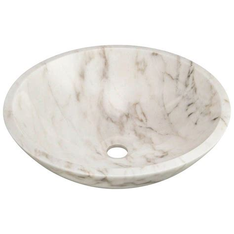 MR Direct Stone Vessel Sink in Honed Basalt White Granite
