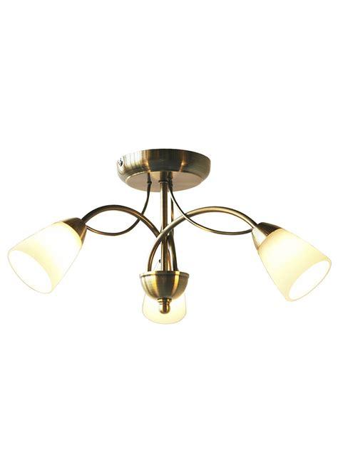 brass ceiling lights wilko ceiling light fitting antique