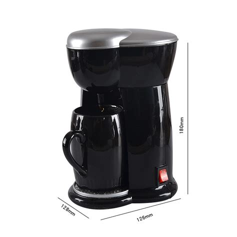 Longer than usual time to brew a cup of joe when you expect a full cup of coffee but the brewed batch only fills half of your cup 300W Mini Single Cup Drip Coffee Machine Makers Electric Automatic Espresso Machine - Dr Techlove