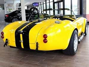 1965 Shelby Cobra Replica 5 050 Miles Yellow Convertible
