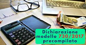 Dichiarazione modello 730/2017 precompilato Commercity Blog