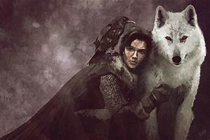 Jon Snow & Ghost - A Song of Ice and Fire Photo (31498045 ...