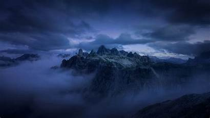 Clouds Dark Mountains Cloud Cliff Fog Nature
