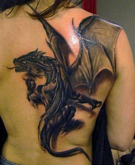 Amazing Realistic 3d Dragon Tattoo  Art  Dragons Pinterest