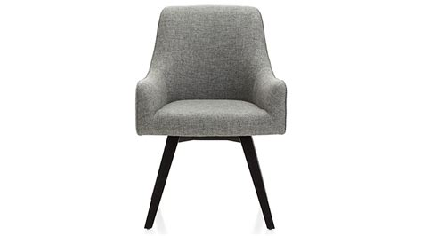 Harvey Black Swivel Armchair In Office Chairs + Reviews