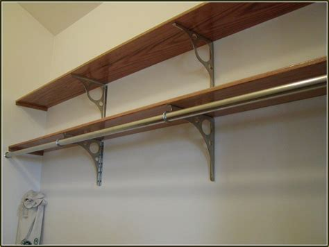 bathroom closet storage ideas decorative closet rod brackets home design ideas