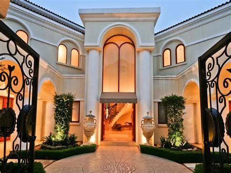 mediterranean style architecture mansion  sandton