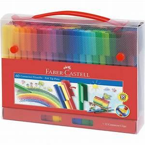 Filzstifte Für Kinder : faber castell connector pen filzstifte f r unterwegs 60 farben zubeh r online kaufen otto ~ Markanthonyermac.com Haus und Dekorationen