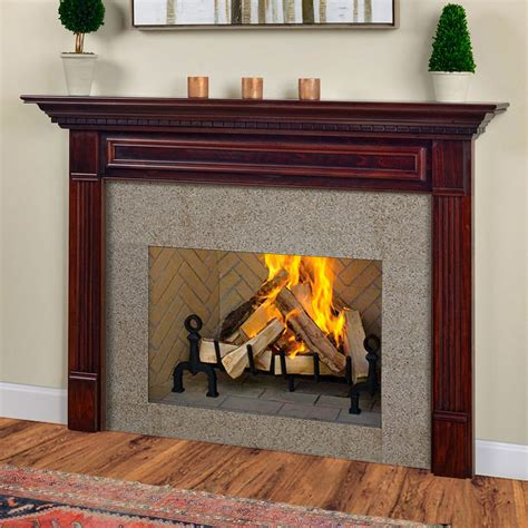 fireplace facing kits wood fireplace mantel kits awesome fireplace walls