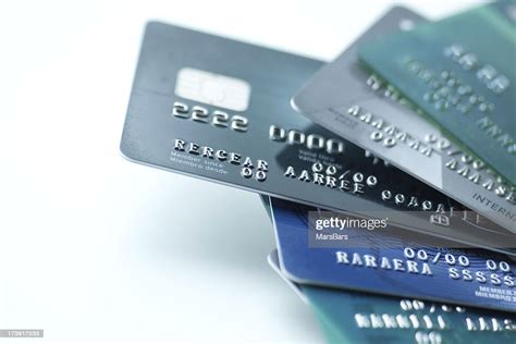 Call best buy credit card. Credit Cards On White Background High-Res Stock Photo - Getty Images
