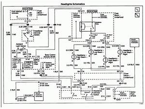2008 Chevy Silverado Headlight Wiring Diagram