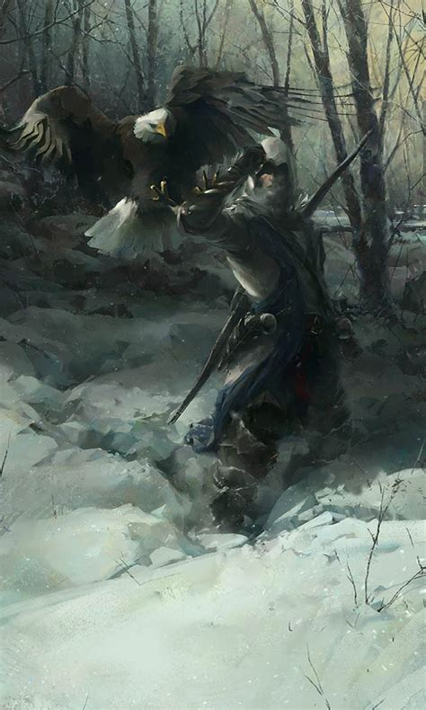 Assassins Creed Iii Concept Art By William Wu Concept