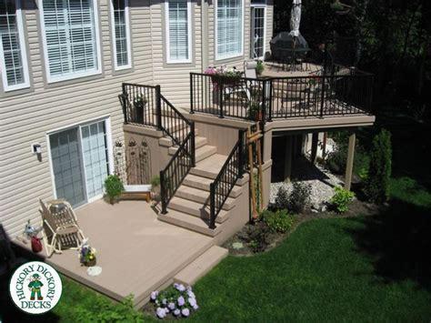 multilevel deck  porch ideas images