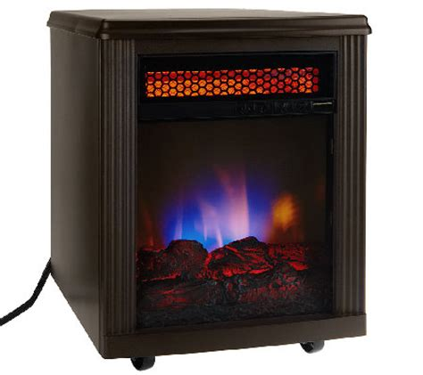 twin star home infrared electric quartz fireplace heater