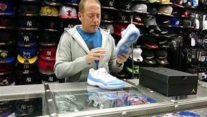 Nike Air Jordan 11 Lowu0026#39;s - University Blue at Street Gear Hempstead NY - YouTube