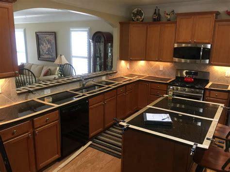countertop template preparing your home for new granite countertop installation