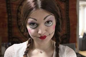 Maquillage D Halloween Pour Fille : un maquillage de poup e pour halloween ~ Melissatoandfro.com Idées de Décoration