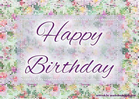 abstract glittery happy birthday card  happy birthday