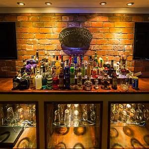 LED Liquor Bar Lighting - Basement - St Louis - by Super