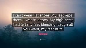 Mariah Carey Qu... Flat Shoes Quotes