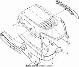 Mtd 13w277ss031  Lt 4200   2016  Parts Diagram For Plenum