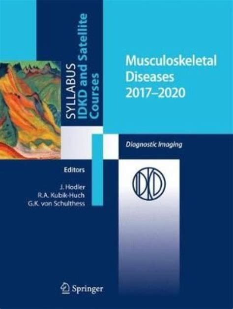 Musculoskeletal Diseases 2017-2020: Diagnostic Imaging ...