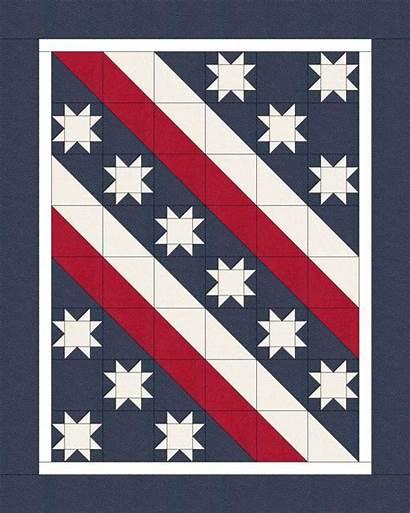 Patriotic Quilts Quilt Quilting Kit Flag Patterns