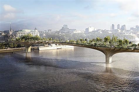 Sadiq Khan Backs The Garden Bridge... But Says It Must Be