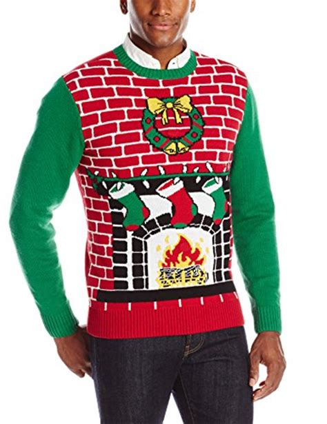 light up christmas sweaters sale men s fireplace with wreath ugly light up christmas