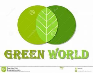Green World Logo Stock Illustration - Image: 46699148