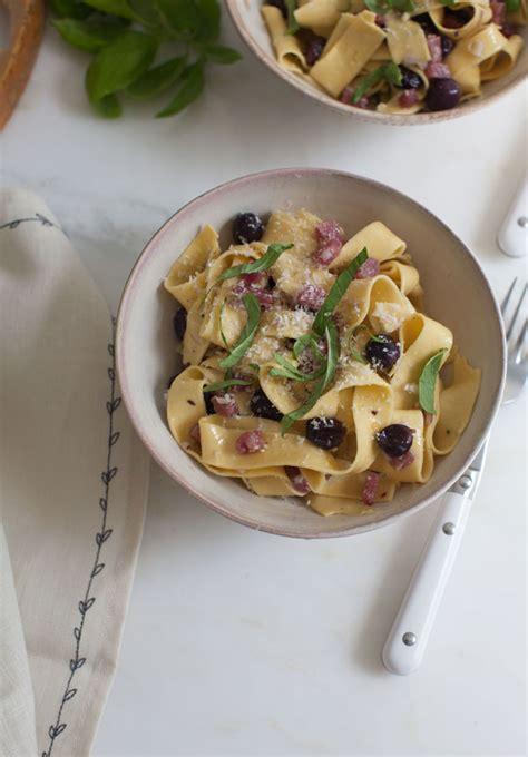 Fast sopressata pasta recipe