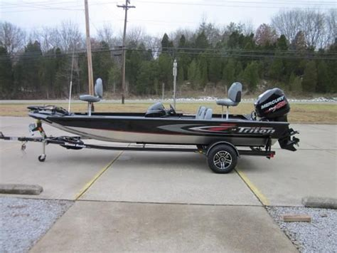 Boats For Sale In Alexandria Ky by New 2014 Triton Aluminum X 18 Alexandria Ky 41001