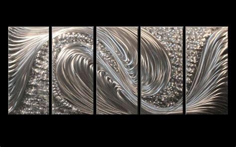 Modern Hanging Metal Wall Art Sculpture Contemporary: Metal Wall Art Abstract Decor Contemporary Modern