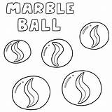 Marble Ball Vector Marbles Cartoon Drawing Glass Av Clip Marmo Marmeren Vektoruppsaettning Vettoriale Drawn Vektorsatz Illustrations Achtergrond Met Kaart Illustrate sketch template