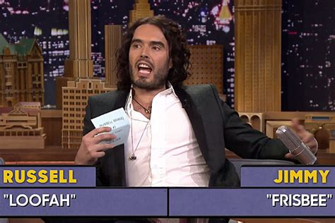 russell brand jimmy fallon russell brand stuns jimmy fallon with rant heavy word