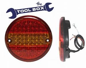 Led 24 Volt Hamburger Trailer Rear Combination Lamp - The Tool Box