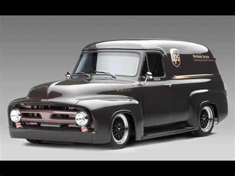 Trucks 1953 Ford Fr100 Panel Truck Cammer
