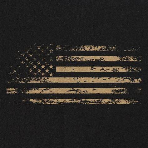 coat rack flag distressed t shirt black usamm