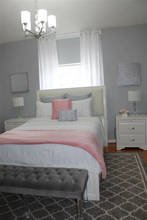 gray and pink bedroom ideas 25 best ideas about pink and grey bedding on pinterest 18815 | 54bd478203f54b62f3c7c237c91fa304 grey bedrooms